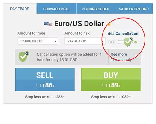 Dealcancellation of EasyMarkets
