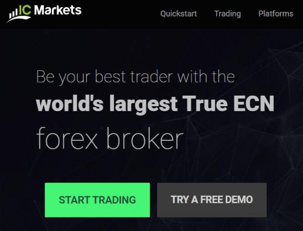 ICMarkets website