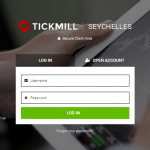Tutorial - Open a demo account on Tickmill