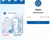 Digital yuan wallet